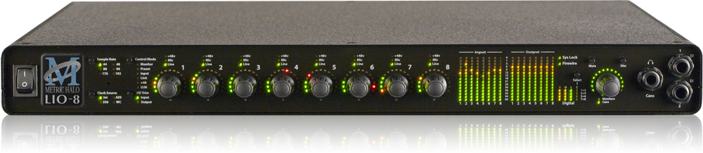Metirc Halo Audio Recording interface