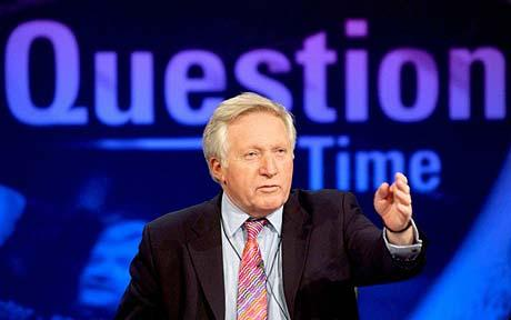 David Dimbleby-BBC Question Time
